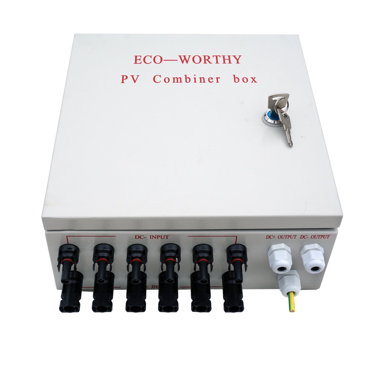 The 1000 Watt Solar Panel PV combiner box.