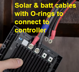 Connecting with O-rings