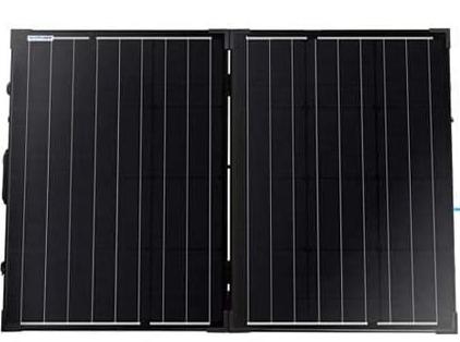Two portable 50 watt solar panels.