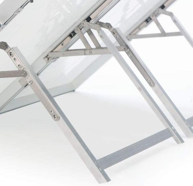180W Solar Panel Tilt Legs