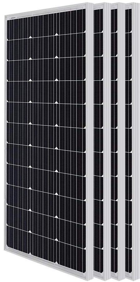 4 x 100Watt solar panels