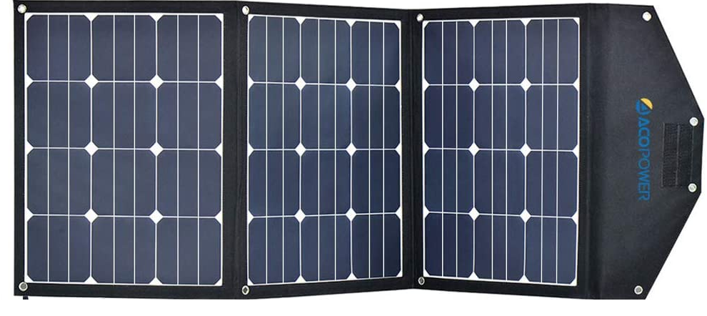 120 Watt solar charger
