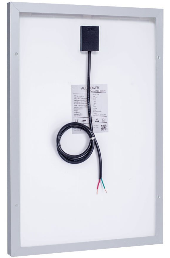 IP-65 rated junction box.