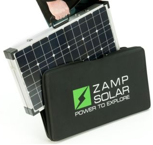 180Wsolar Suitcase and Zip Bag