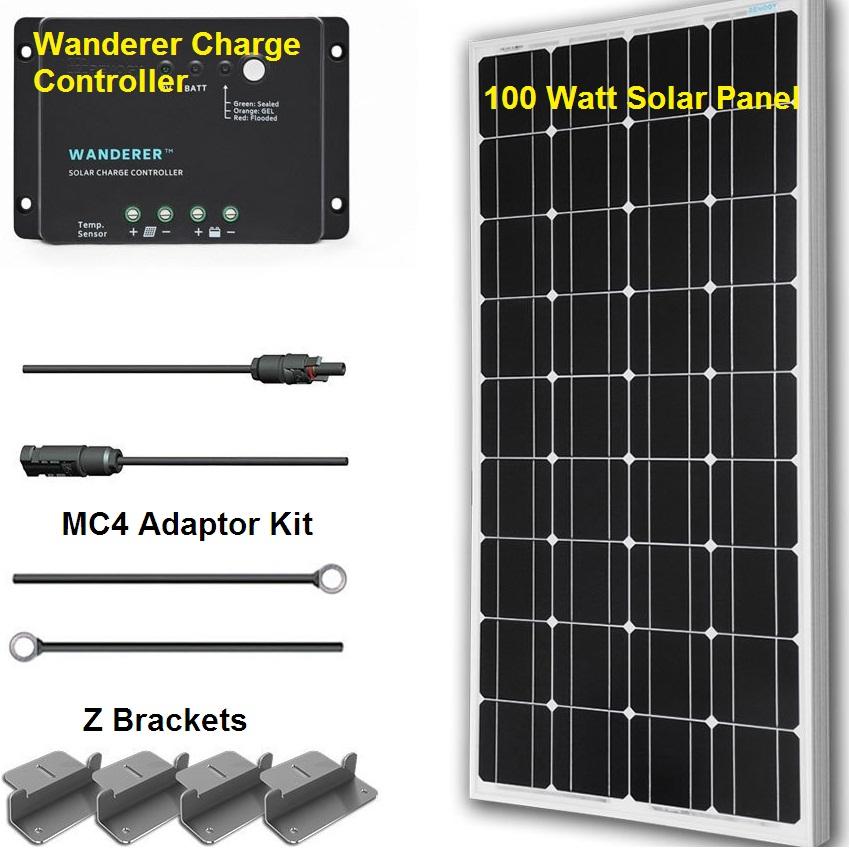 Renogy 100 watt solar kit