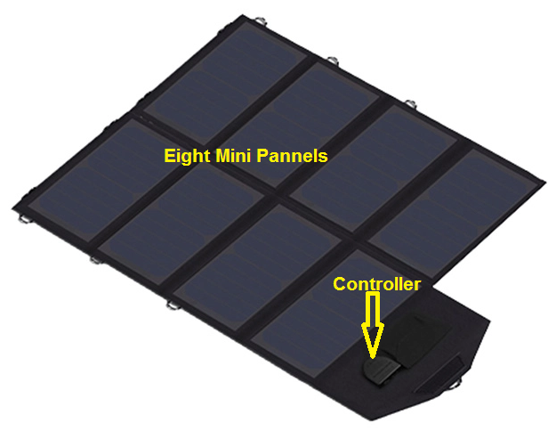 40W Solar Panel with Controller