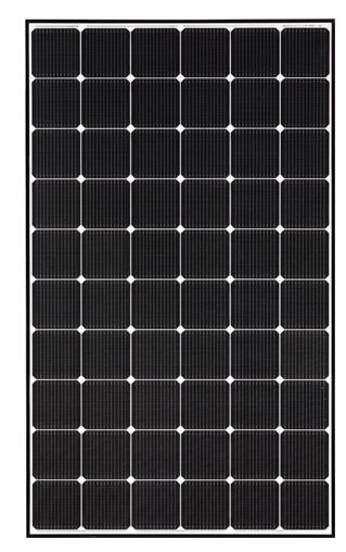 335W solar panel