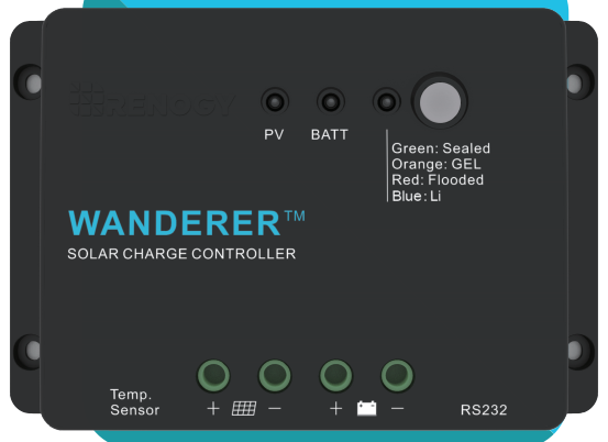 The 30A Wanderer Charge Controller