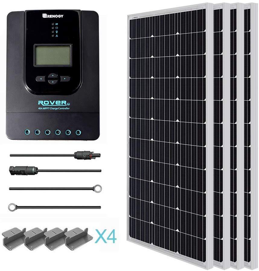 400 Watt Solar Panel Kit
