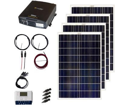 12V Solar Panel Kit from Grape Solar