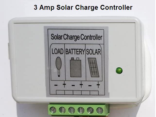 40 Watt Solar Panel Charge Controller