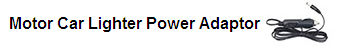 Car Lighter Power Adaptor