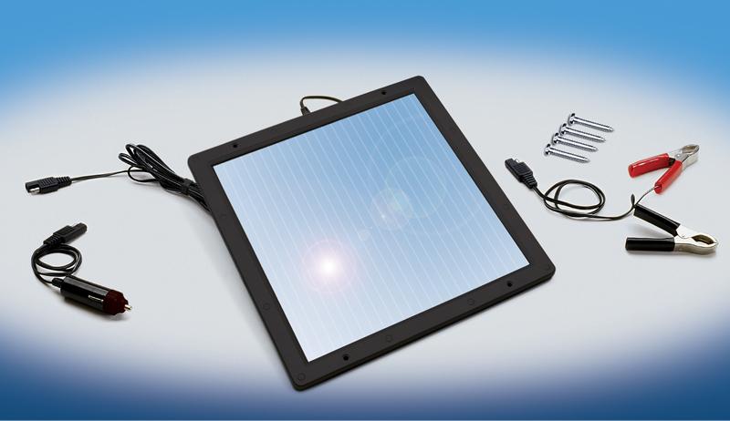 5 Watt Solar Panel with Accessories.