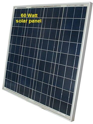 60 Watt Solar Panel.