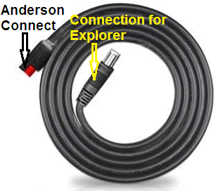 Three-meter extension cable