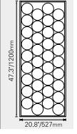 Dimensions of 75 Watt Solar Panel.