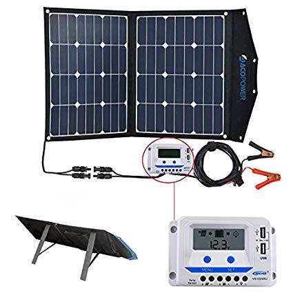 Complete 80W Solar Panel