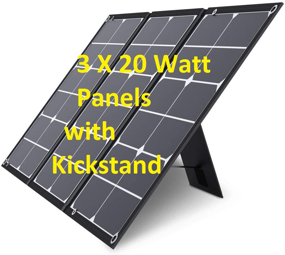 60 Watt solar charger