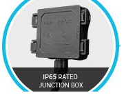 IP65 Rated Junction Box.