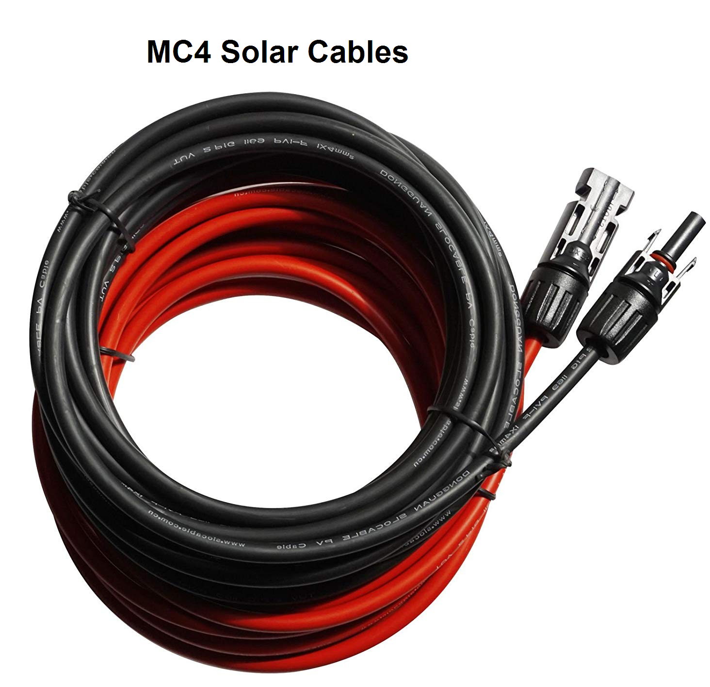 MC4 Solar Cables.