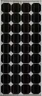 High-efficiency 75 Watt Solar Panel